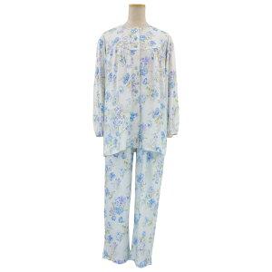 シニア 婦人 春 秋■綿100 スムス 通年 パジャマ ねまき 小さいサイズ 高齢者