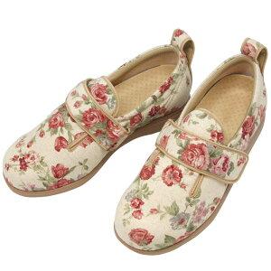 あゆみ ダブルマジックII ローズ 靴 シューズ メンズ レディース シニア ファッション 母の日 70代 80代 90代 シニアファッション シニア向け 服 衣料 介護用品 老人 高齢者 女性 婦人 取寄せ 徳