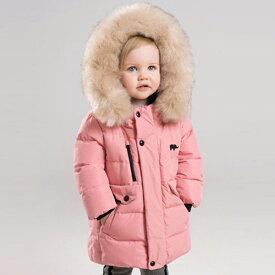 子供服 ダウンジャケット アウター 冬 女の子 フード ファー 80 90 100 110 120 130 cm db12008 dave&bella デイブ ベラ シンプル 上品