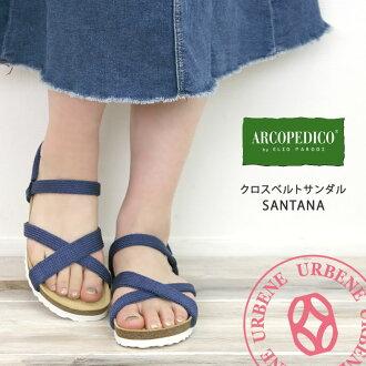 ARCOPEDICO arcopedico 涼鞋敬禮線桑塔納桑塔納 (arcopedico-5061140) 鞋女鞋涼鞋舒適涼鞋鞋樂天 urbene Arven 女士