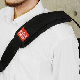 マンハッタンポーテージ Manhattan Portage ショルダーパッド Shoulder Pad (mp1001) バッグアクセサリー かばん用 メンズ レディース ブラック 黒 ビジネス 男女兼用バッグ アウトドア コーデュラナイロン おしゃれ かっこいい