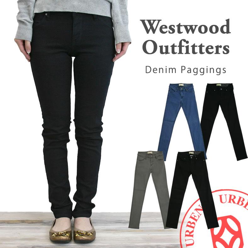 [13%OFF対象] Westwood Outfitters ウエストウッドアウトフィッターズ ストレッチ タイトフィット デニム レギンス パンツ パギンス (40161035)レディース ボトムス ジーンズ デニム スキニージーンズ ウエストゴム 楽天