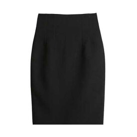 スカート ハイウエスト ブラック グレー タイトスカート オフィス 大人女子 ベーシック ひざ丈 無地 シンプル セクシー かわ小 かわ大