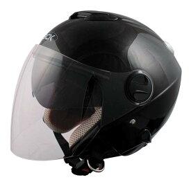 SPEED PIT ZJ-2 ZACK ダブルシールド機能搭載 ジェットヘルメット ブラック