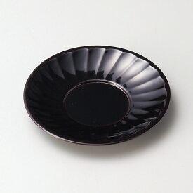 菊割茶托(溜)5枚セット宮内庁御用達 木合 日本製 来客 越前漆器 うるし 上品 器 テーブル小物 漆器 漆塗 手塗 高級 おすすめ キッチン雑貨 茶道具 おもてなし コースター 5枚揃い