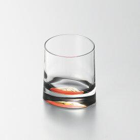 赤富士オールドグラス(黒)宮内庁御用達 酒器 日本製 来客 うるし 漆塗 手塗 高級 おすすめ おもてなし グラス ガラス コップ 富士山 プレゼント ギフト 還暦 父の日 長寿祝い 御祝 海外ギフト