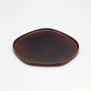 送料無料 溜 梅型銘々皿 木製 漆器 和食器 日本製 高級 業務用 菓子皿 和菓子 ギフト 内祝い 小皿 おもてなし おしゃれ かわいい 取り分け皿 沈金 丸皿 プレート 軽量 ポイント アップ