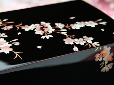 ジュエリーボックス桜の小箱 【木曽の漆器よし彦】
