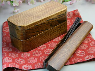 Slim lunch box chopsticks, chopstick, full package set