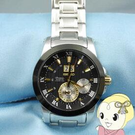 【キャッシュレス5%還元】【あす楽】在庫処分 [逆輸入品] SEIKO キネティック 腕時計 PREMIER プルミエ KINETIC PERPETUAL パーペチュアル SNP129P1【/srm】