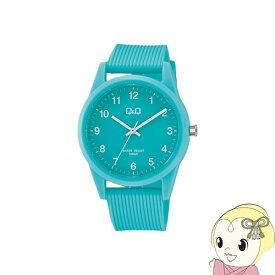 VS40-010 シチズン 腕時計 Q&Q 10気圧防水 カラーウォッチ ユニセックス ミントグリーン