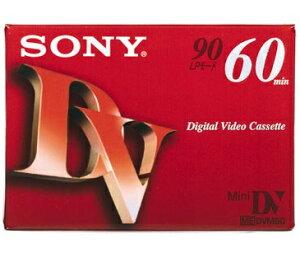 ソニー DVM-60R3 ミニDVカセット60分