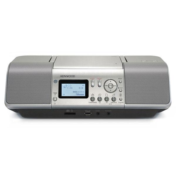 ケンウッド CLX-30-S iPod/iPhone対応 CD/SD/USBパーソナルオーディオシステム シルバー【smtb-k】【ky】