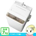【在庫僅少】NA-F70PB11-T パナソニック 全自動洗濯機7kg バスポンプ付 ブラウン【smtb-k】【ky】