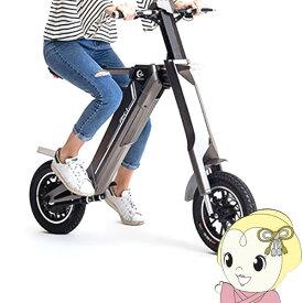 [予約 1カ月半以降]電動バイク 原付バイク AK-1 折りたたみ電動スクーター 公道走行可能 EV 1年間保証 グレー AK-1-GY【/srm】