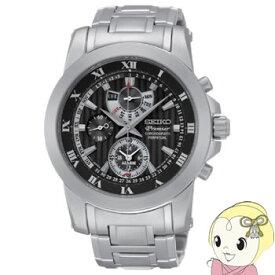 【キャッシュレス5%還元】【あす楽】在庫僅少 [逆輸入品] SEIKO クォーツ 腕時計 PREMIER プルミエ アラーム クロノグラフ パーペチュアル SPC161P1【/srm】