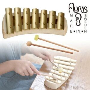◎アウリス グロッケン クインタ7音 432Hz AUKPQ[楽器 おもちゃ こども 北欧 スウェーデン 木製 グロッケン プレゼント・ギフトにおすすめ 男の子 女の子 子供]