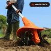 YARDFORCEハイパワー充電式家庭用耕運機[家庭用にぴったりのサイズ女性も使いやすい小型の耕運機(電動)家庭菜園にもおすすめの耕耘機]