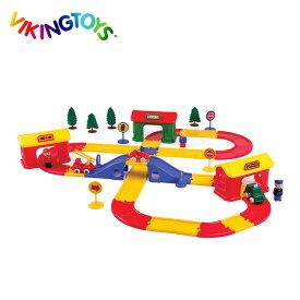 ◎VIKINGTOYS バイキングトイズ バイキングシティロード ストックホルム 156080[キッズ・男の子に人気の乗り物のおもちゃ クリスマスプレゼントやお誕生日のギフトにおすすめ 1歳からの玩具] 即納