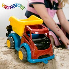 ◎VIKINGTOYS バイキングトイズ マイティ ダンプ 156171[1歳 男の子 おもちゃ 車 はたらく車 働く車 乗り物 玩具 こども 子ども キッズ ベビー]