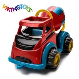 ◎VIKINGTOYS バイキングトイズ マイティ ミキサー 156173[1歳 男の子 おもちゃ 車 はたらく車 働く車 乗り物 玩具 こども 子ども キッズ ベビー] 即納
