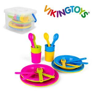 ◎VIKINGTOYS バイキングトイズ パステルダイニングセット 156194[おままごとセット おままごと ままごと ごっこ遊び 遊び おもちゃ 玩具 キッチン 食器 可愛い かわいい おしゃれ お洒落 オシャ