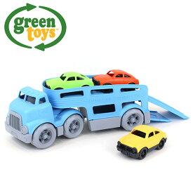 ◎green toys カーキャリアー GRT-CCRB-1237[おもちゃ 玩具 カーキャリア キャリアカー 室内 男の子 男 2才 2才以上 子供 誕生日 プレゼント 車の玩具 誕生日プレゼント 乗り物おもちゃ 乗り物玩具 男の子プレゼント] 即納