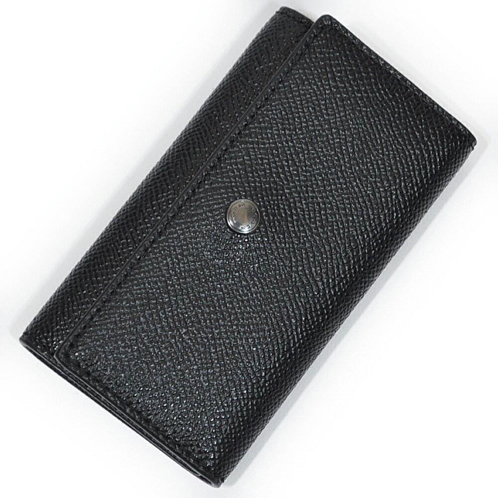コーチ 財布 キーケース COACH F26100 BLK 4リングス クロスグレイン レザー キーケース ブラック