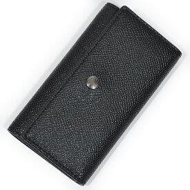 534567011452 コーチ 財布 キーケース COACH F26100 BLK 4リングス クロスグレイン レザー キーケース ブラック