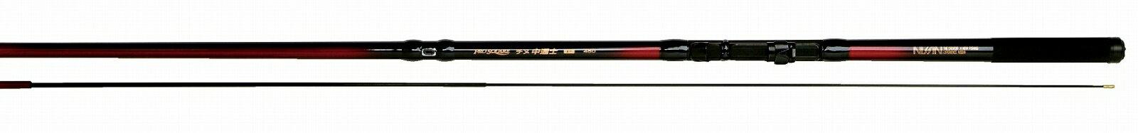 送料無料 即日発送 宇崎日新 PRO SQUARE (プロスクエア) チヌ中通士 W-6.3m NISSIN Made in Japan日本製 (インターライン 中通し・磯竿・チヌ竿)