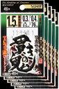 ささめ針 ワカサギ 貫きの鬼 2号 鈎・新秋田狐 5枚まとめ買い特価 C-238(SASAME・ササメ)