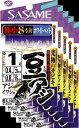 ささめ針 豆アジサビキ ホワイトベイト 1号 鈎・小アジ丸軸 5枚まとめ買い特価 S-106 (SASAME・ササメ)