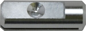 ZH15 超音波カッター用薄刃ZH14・薄長刃ZH16専用(刃厚0.15mm)刃固定具(ZO-30プラ・ZO-40B/W・ZO-41・ZO-80)