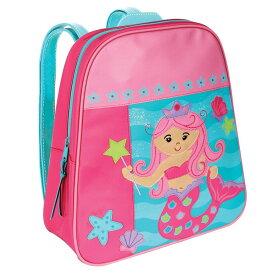 【送料無料◎クーポン対象】ステファンジョセフ 女の子用GO-GO BAG ピンクマーメイドアップリケ付きリュックサック ピンクバックパック キッズかばん バッグ 通園・通学バッグ デイバッグ
