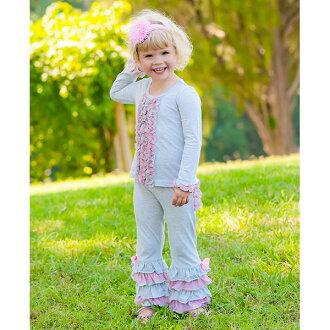 抽獎蝙蝠 RuffleButts 女孩與 babypinktulleaxentraffle 灰色的長袖上衣,心湖羅恩 T 寶寶長袖 t 恤 02P01Oct16