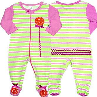 为女孩 raimborderroli 流行小跑步态工作服、 黄色绿色,粉红色的爬衣出售、 交付、 SOZO (海藻)