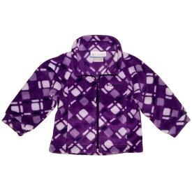 コロンビア Columbia 女の子パープルダイヤモンド柄フリースジャケット 出産祝い アウター 【ラクーポンで送料無料】【楽ギフ_包装選択】