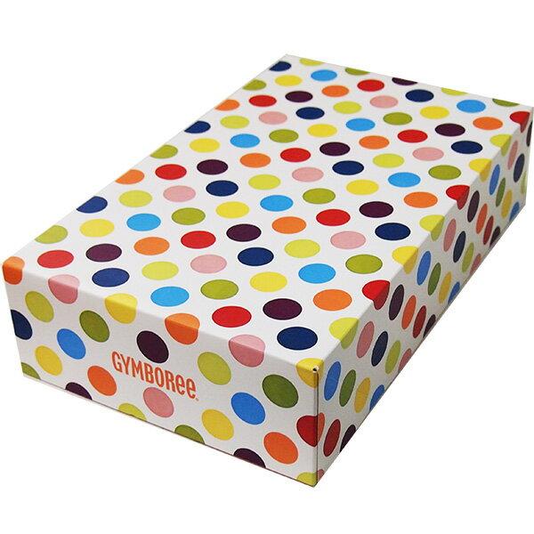ジンボリー GYMBOREE カラフルドット柄メーカーオリジナルギフトボックス 出産祝い 水玉模様化粧箱 プレゼント 【ラクーポンで送料無料】【楽ギフ_包装選択】