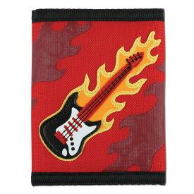 【割引クーポン】ステファンジョセフ Stephen Joseph 男の子用ロックンロールギターのお財布 赤 レッド小銭入れ小物入れ ベビー用ポーチ さいふ 子供用財布