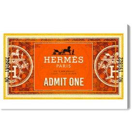 【送料無料+2%割引】【まとめ買い割引★2枚目5%+3枚目10%OFF】 Oliver Gal オリバーガル 約38x25cm ADMIT ONE HONORE EQUESTRIAN Hermes エルメス キャンバスアート インテリア 絵画 衣替え 引越し祝い