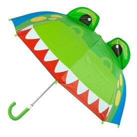 【送料無料+最大4%クーポン対象】ステファンジョセフ 【雨の日が楽しくなる3Dポップアップ傘】 男の子用雨の日が楽しくなっちゃう恐竜さんのポップアップアンブレラ 傘 雨具 梅雨対策グッズ Stephen Joseph かさ カサ