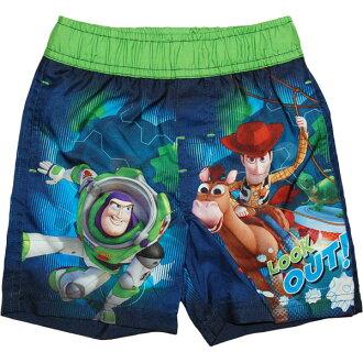 迪士尼迪士尼玩具總動員為男孩木質玩具故事泳衣 & buzz 看看! 海水褲子產婦禮品玩具銷售