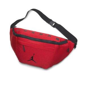 【送料無料+P5倍+クーポン】【便利な大型サイズ】 ナイキ Nike ジョーダン Oversized Jordan Crossbody Bag クロスボディバッグ (Gym Red) ショルダーバッグ ウエストポーチ ウエストバッグ 【楽ギフ_