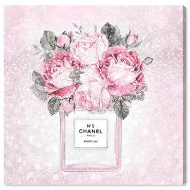 【送料無料+P3倍+クーポン】【まとめ買い割引★2枚目5%+3枚目10%OFF】 Oliver Gal オリバーガル 約91x91cm Doll Memories - Paris Rose Queen シャネル Chanel インテリア 絵画 衣替え 引越し祝い
