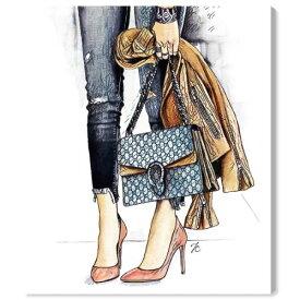 【送料無料+P3倍+クーポン】【まとめ買い割引★2枚目5%+3枚目10%OFF】 Oliver Gal オリバーガル 約61x71cm Doll Memories - Fashion Street Glame キャンバスアート インテリア 絵画 衣替え 引越し祝い