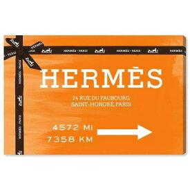 【送料無料+P3倍+クーポン】【まとめ買い割引★2枚目5%+3枚目10%OFF】 Oliver Gal オリバーガル 約76x51cm Faubourg Road Sign Orange エルメス Hermes インテリア 絵画 衣替え 引越し祝い 引っ越し祝い