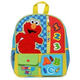 【送料無料+クーポン対象】 Sesame Street セサミストリート エルモ Elmo Interactiveリュックサック バックパック カバン 鞄 デイバッグ 旅行