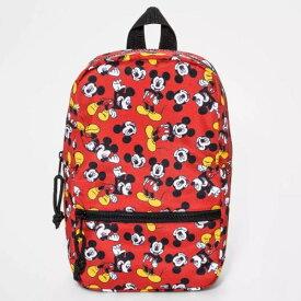 【送料無料+クーポン対象】Disney ディズニー Mickey Mouse 男の子用ミッキーマウス総柄お出かけ用リュックサック バックパック カバン 鞄 デイバッグ 旅行