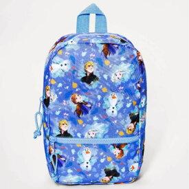 【送料無料+クーポン対象】Disney ディズニー Frozen 女の子用アナと雪の女王総柄お出かけ用リュックサック バックパック カバン 鞄 デイバッグ 旅行 エルサ オラフ