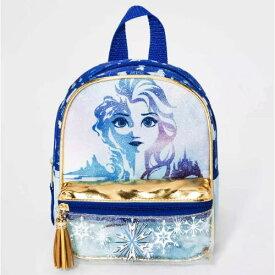 【送料無料+クーポン対象】Disney ディズニー Frozen アナと雪の女王 女の子用エルサグラフィックお出かけ用リュックサック バックパック カバン 鞄 デイバッグ 旅行 エルサ オラフ
